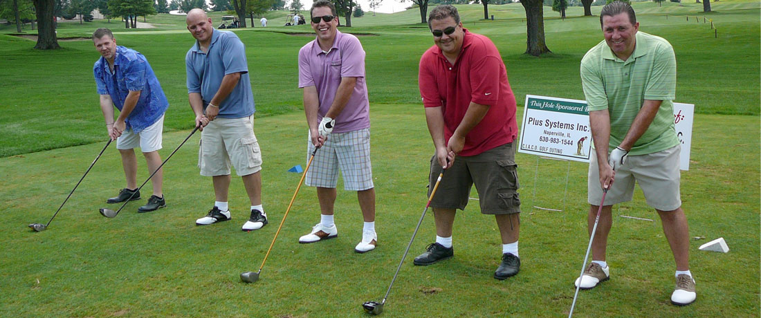 CIACO members at the annual golf outing
